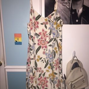 Off White Floral Sundress from Old Navy